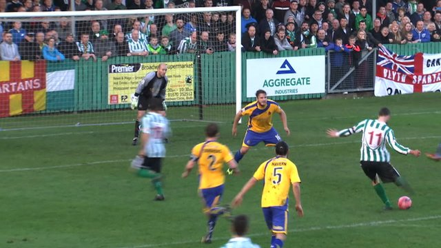 Blyth score in the FA Cup second round