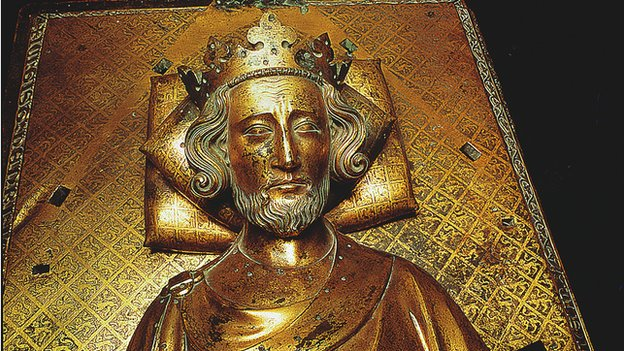 The tomb of Henry III in Westminster Abbey