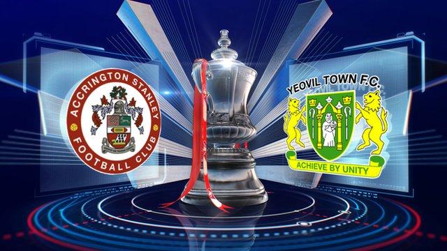 Accrington Stanley v Yeovil Town