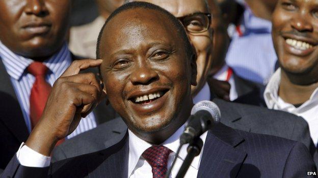Kenyan President Uhuru Kenyatta. File photo