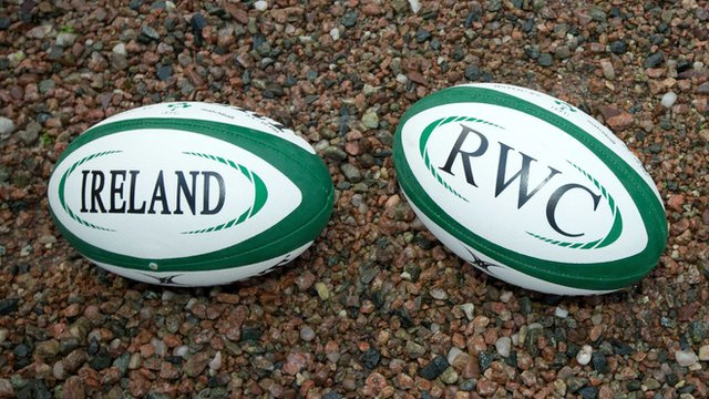 The 2023 Rugby World Cup could be staged in Ireland