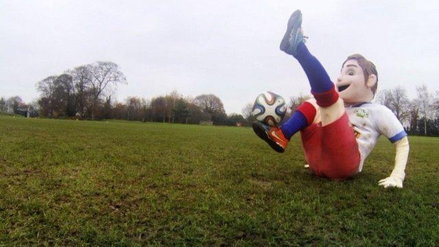 FA Cup mascot Farnworth