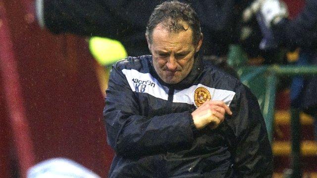 Interview - Motherwell interim manager Kenny Black