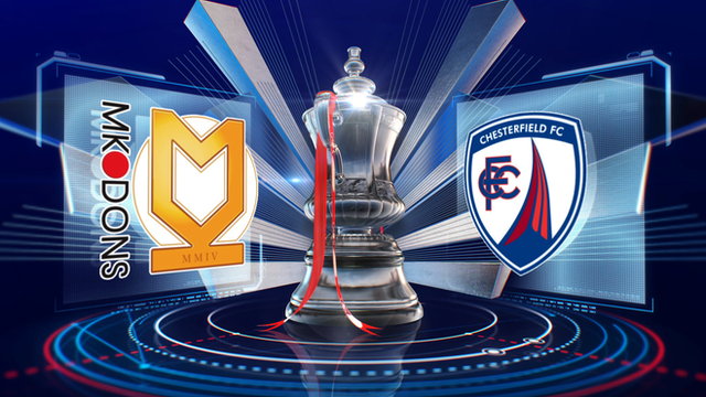 FA Cup: MK Dons 0-1 Chesterfield highlights