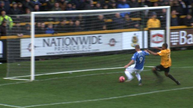 James Constable scores for Eastleigh