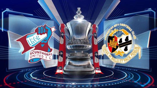 Scunthorpe 1-1 Worcester City