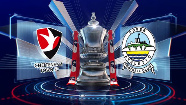 Cheltenham 0-1 Dover highlights