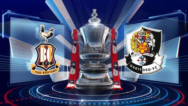 Bradford 4-1 Dartford