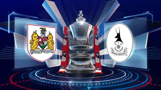 Bristol City 1-0 Telford highlights