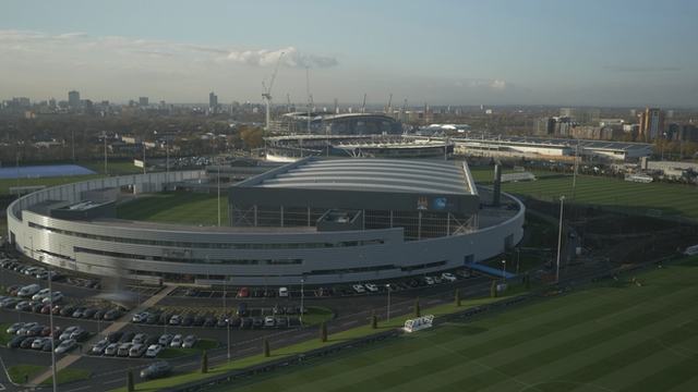 Manchester City's £200m training complex officially opens