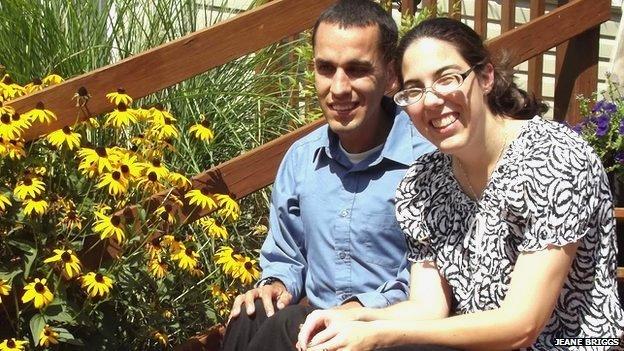 Abraham with his girlfriend DeeAnna