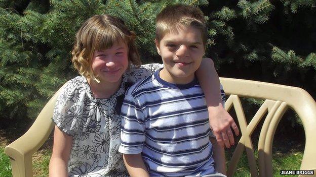 Mya and Luke Briggs