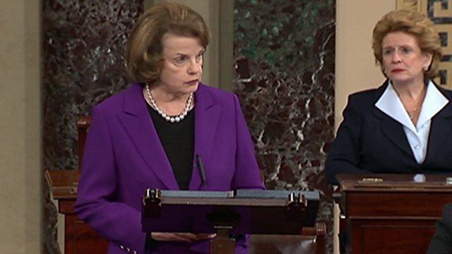 Democratic Senator Dianne Feinstein