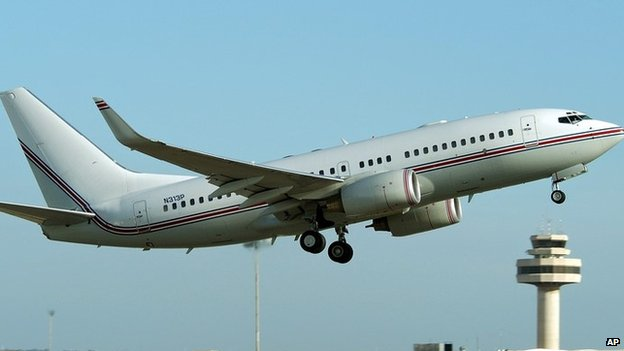 Suspected CIA Boeing 737 (March 2004)