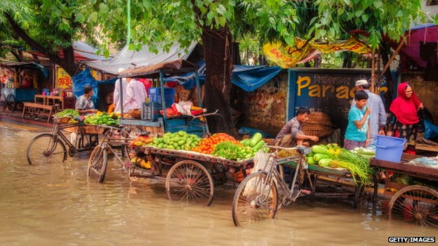 Flooding in Dhaka, Bangladesh (May 2013)