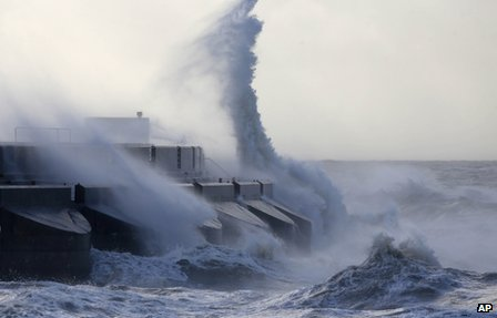 The St Jude's storm in Brighton