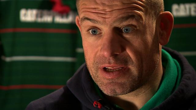 Leicester coach Richard Cockerill