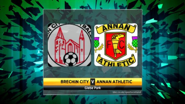 Brechin City 4-2 Annan Athletic