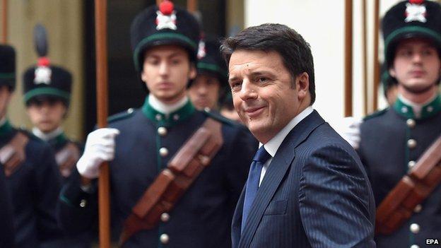 PM Matteo Renzi - file pic