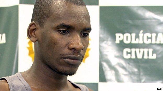 Sailson Jose das Gracas, self-confessed serial killer, Rio de Janeiro police Dec 2014
