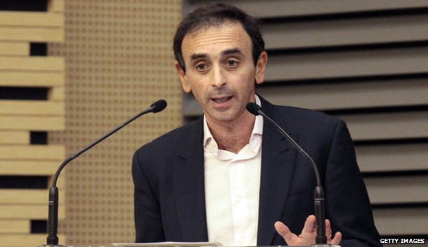 Eric Zemmour (file pic 2011)