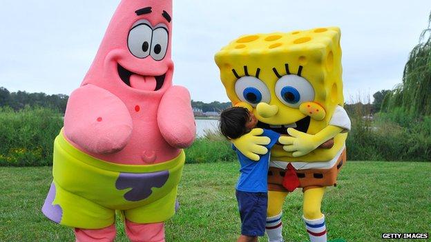 SpongeBob SquarePants and friends