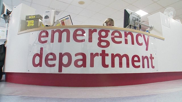 An Accident and Emergency department