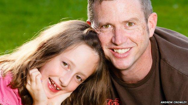 Paul Lindley and his daughter Ella