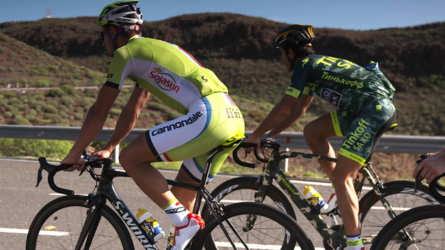 Pro Team Tinkoff-Saxo's winter training camp in Gran Canaria