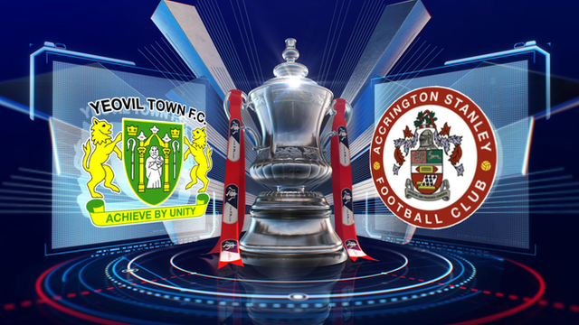 FA Cup: Yeovil 2-0 Accrington Stanley highlights