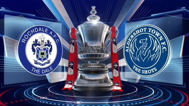 Rochdale 4-1 Aldershot highlights