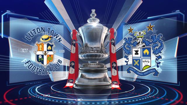 Luton Town 1-0 Bury highlights
