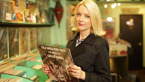 The BBC's Lauren Lavern