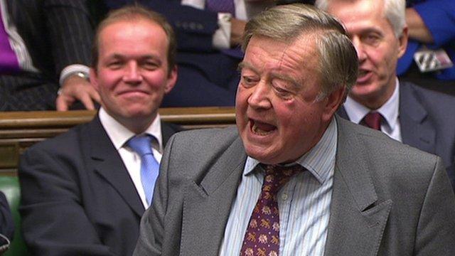 Ken Clarke MP at PMQs