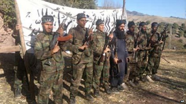 Pakistani Taliban released photo of what they say are Taliban militants who stormed the Peshawar school