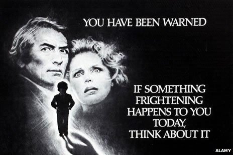 Omen film poster 1976