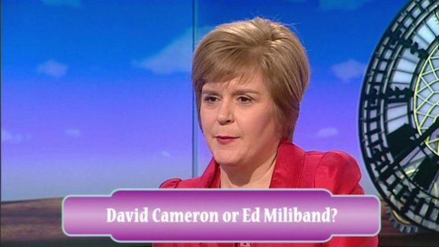 Nicola Sturgeon on the Daily Politics