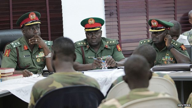 Court Martial in Abuja. 2 Oct 2014