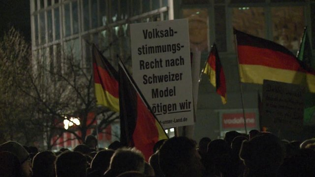 Protests in Dresden