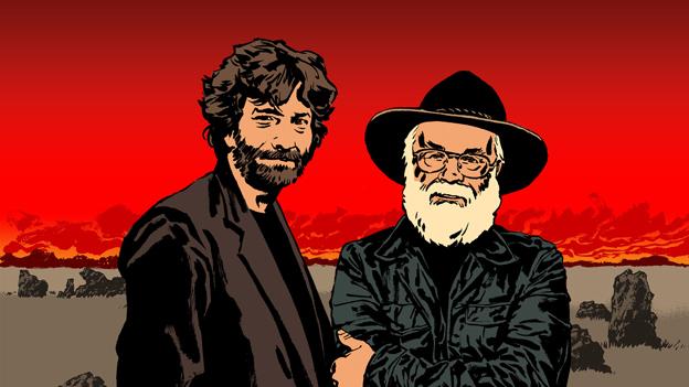 Neil Gaiman and Terry Pratchett