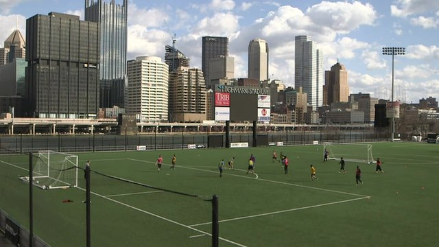 Pittsburgh soccer field