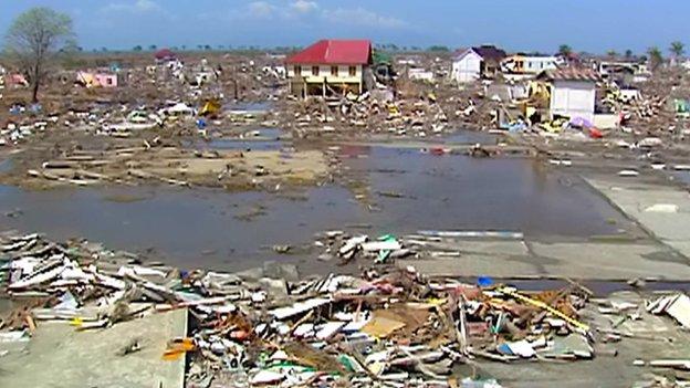 Banda Aceh after the 2004 tsunami