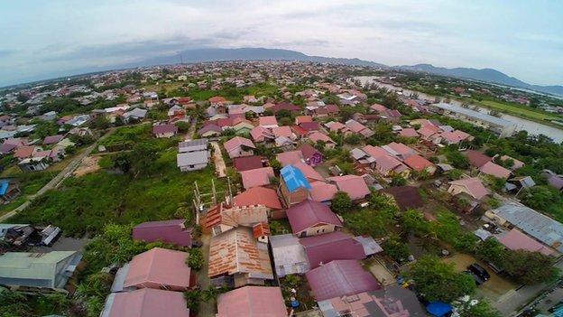Houses in Lhoknga. Photo: 2014