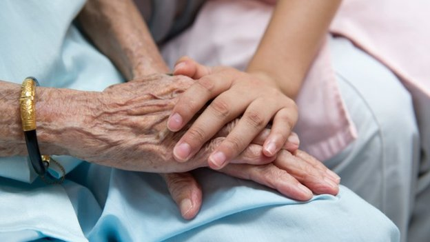Carer and patient. Pic: Thinkstock