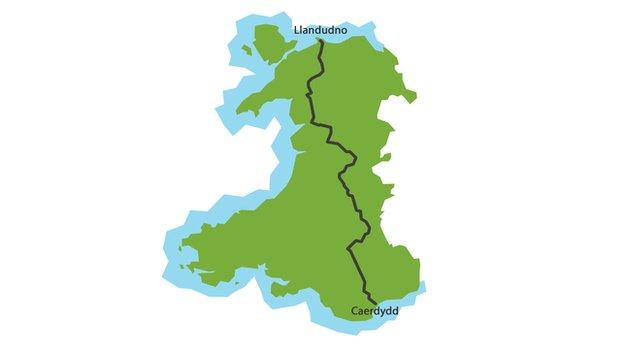 Map Cymru