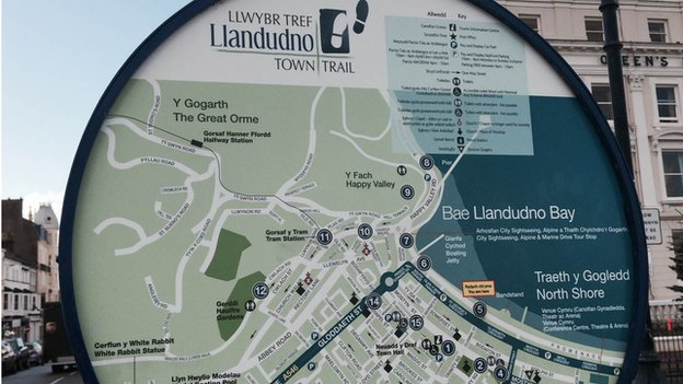 Map Llandudno