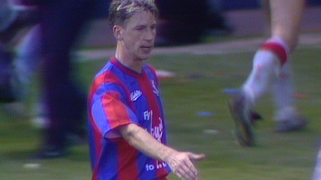 Alan Pardew scores for Crystal Palace in FA Cup semi-final