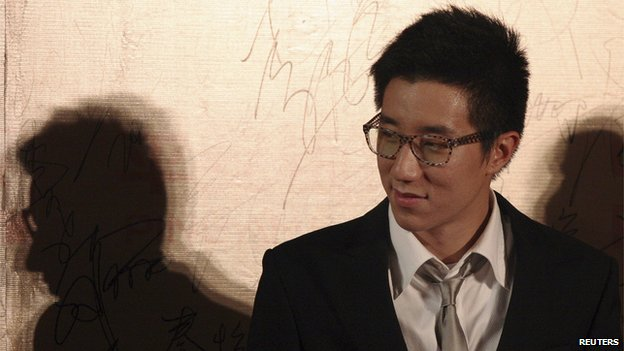 Hong Kong actor Jaycee Chan attends a movie festival in Shanghai on 13 June, 2009