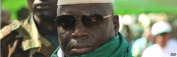 The Gambia's President Yayha Jammeh (file photo)