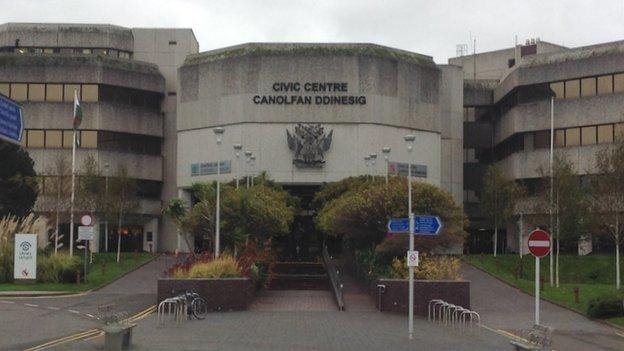 Swansea civic centre